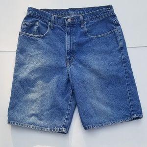 RL Polo Jeans Company Shorts American Flag Logo